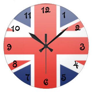 Relógio Grande Bandeira de Reino Unido