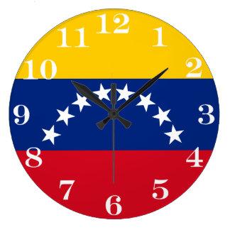 Relógio Grande Bandeira de Venezuela
