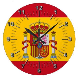Relógio Grande Bandeira espanhola