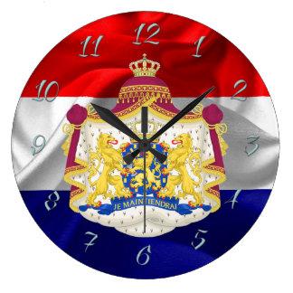 Relógio Grande Bandeira holandesa