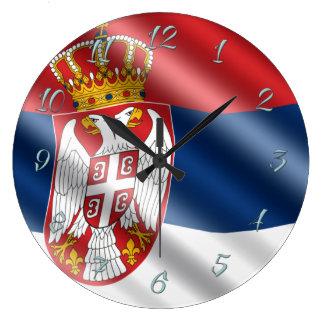 Relógio Grande Bandeira sérvio