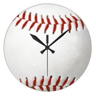 Relógio Grande Basebol - pulso de disparo de parede