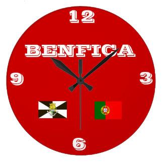 Relógio Grande Benfica Portugal Wallclock