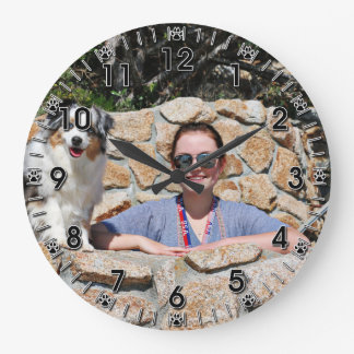 Relógio Grande Bennett - mini australiano - Rosie - praia de
