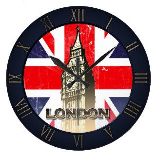 Relógio Grande Big Ben famoso de Londres
