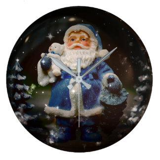Relógio Grande Bola do Natal