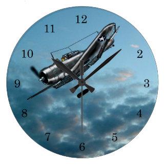 Relógio Grande Bombardeiro de mergulho Dauntless de Douglas