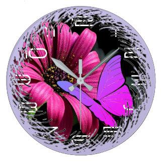 Relógio Grande Borboleta