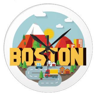 Relógio Grande Boston como um destino