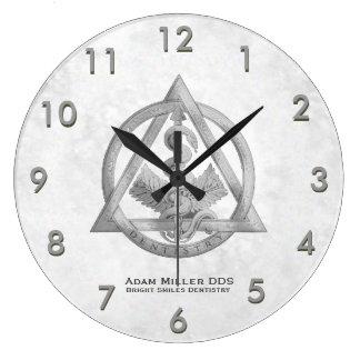 Relógio Grande Branco feito sob encomenda do pulso de disparo do