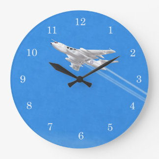 Relógio Grande Branco instantâneo do bombardeiro do vencedor anti