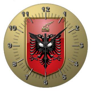 Relógio Grande Brasão albanesa