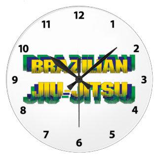 Relógio Grande Brasileiro Jiu-Jitsu