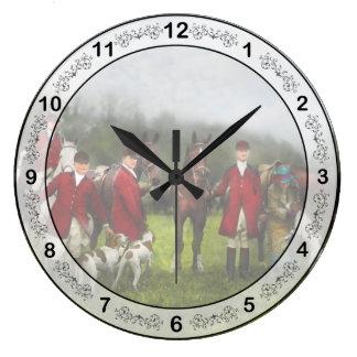 Relógio Grande Caçador - a caça de raposa - Registro-ho 1924