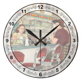 Relógio Grande Café - o lugar frequentado local 1941