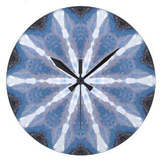 Relógio Grande Caleidoscópio abstraído