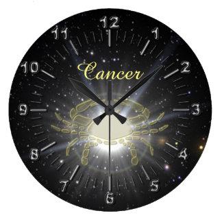 Relógio Grande Cancer brilhante