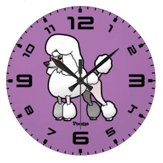 Relógio Grande Caniche