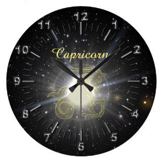 Relógio Grande Capricórnio brilhante