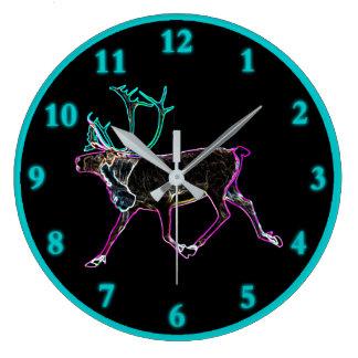 Relógio Grande Caribu elétrico