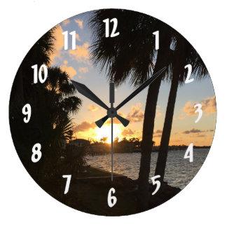 Relógio Grande Casa doce Home da praia