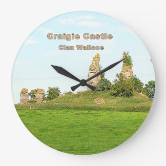 Relógio Grande Castelo de Craigie - clã Wallace