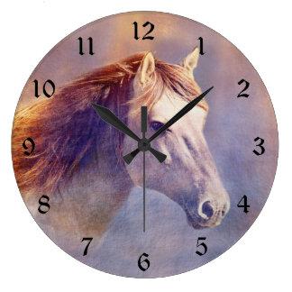 Relógio Grande Cavalo