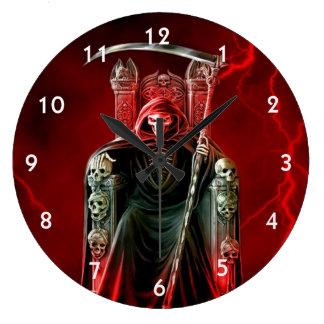 Relógio Grande Ceifador em seu trono
