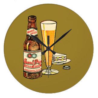 Relógio Grande Cerveja de cerveja pilsen premiada grande