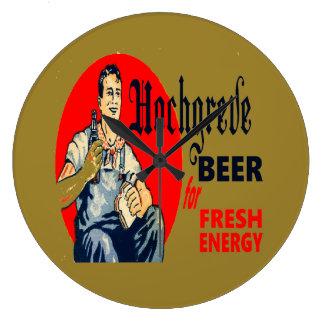 Relógio Grande Cerveja de Hochgreve