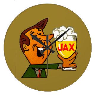 Relógio Grande Cerveja de Jax