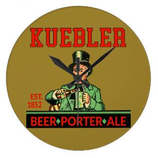 Relógio Grande Cerveja inglesa do porteiro de Kuebler