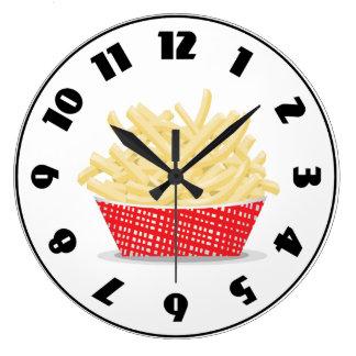 Relógio Grande Cesta do pulso de disparo das batatas fritas
