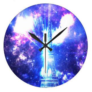 Relógio Grande Céu parisiense iridescente
