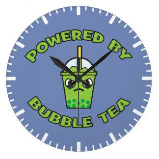 Relógio Grande Chá da bolha, psto pelo chá da bolha - Kawaii