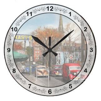 Relógio Grande Cidade - Amsterdão NY - Amsterdão do centro 1941