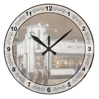 Relógio Grande Cidade - Amsterdão NY - Hamburger 5 centavos 1941