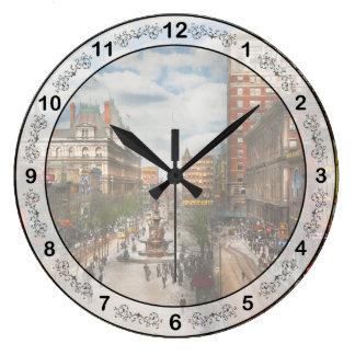 Relógio Grande Cidade Cincinnati OH - fonte 1907 de Tyler