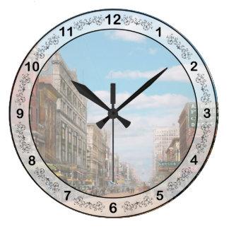 Relógio Grande Cidade - Memphis TN - alameda 1909 da rua
