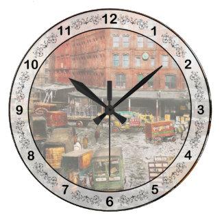 Relógio Grande Cidade - New York NY - colada em uma rotina 1920