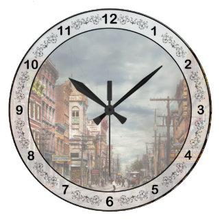 Relógio Grande Cidade - NY - o mercado nunca em mudança 1906