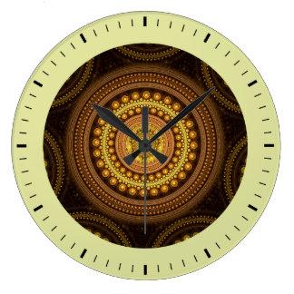 Relógio Grande Círculos do Fractal
