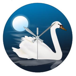 Relógio Grande cisne moderna do meio século do 50 personalizada