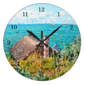 Relógio Grande Claude Monet a cabine em belas artes do
