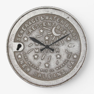 Relógio Grande Cobrir crescente do medidor de água municipal