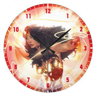 Relógio Grande Cobrir da enciclopédia da mulher maravilha