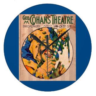 Relógio Grande cobrir do playbill do teatro de Cohan do 1920