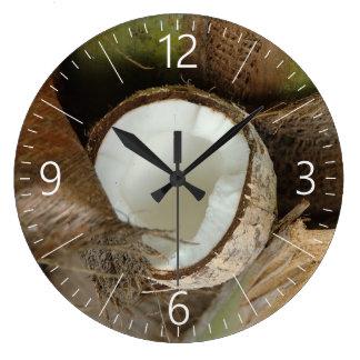 Relógio Grande Coco quebrado