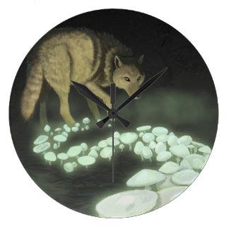 Relógio Grande Cogumelos de arrasto da morte do lobo
