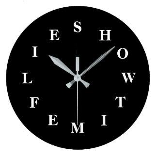 Relógio Grande Como o tempo voa o grande pulso de disparo de